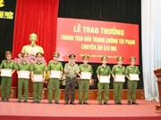 Vinh Phuc police seizes 20,000 meth pills