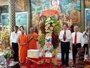 Front president pays Chol Chnam Thmay visit to Soc Trang