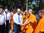 PM extends Chol Chnam Thmay wishes to Khmer people in Soc Trang