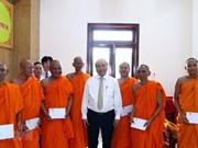 PM visits Khmer Theravada Buddhist Academy
