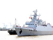 Bangladeshi naval ship starts friendship visit to HCM City