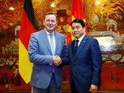 Hanoi boosts cooperation with German locality