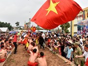 Vietnam's tug-of-war games, ritual receive UNESCO's certificate