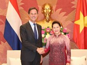 NA Chairwoman meets Dutch Prime Minister