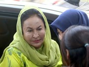 Malaysian ex-PM's wife accused of graft charge