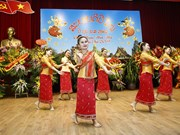 Lao Embassy hosts traditional New Year celebration in Hanoi