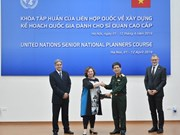 UN training course on national planning wraps up in Hanoi
