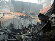 Hanoi: Eight killed, go missing in workshop blaze