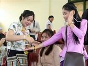 Thai Nguyen celebrates Laos' traditional New Year festival