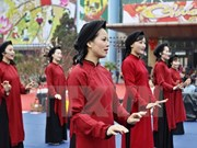 Special Xoan singing shows for visitors to Hung Kings Temple Festival