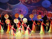 Vietnamese art performance leaves fine imprints in mind of DPRK people