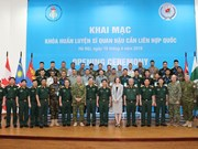 Training course for UN logistics officers opened in Hanoi