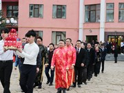 Hung Kings' death anniversary commemorated overseas