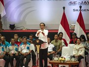 Indonesia: Incumbent President Widodo temporarily leads in election