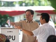 Indonesia election: Jayapura residents cast late ballots