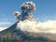 Volcano on Indonesia's Bali resort island erupts again