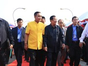 Thai-Cambodian Friendship Bridge completed