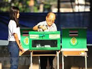 Thailand holds by-election in five provinces