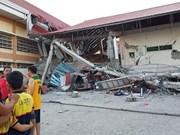 6.3-magnitude quake kills two in Philippines