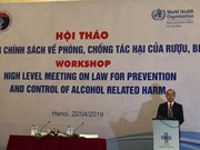 Average Vietnamese consumes over 6 litres of alcoholic drinks per year