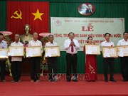 "Tra Vinh: ""Heroic Mother"" title presented to 54 women"