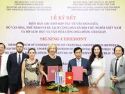 Uruguay, Vietnam to boost cooperation in culture and education