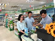 Vinamilk's organic products introduced in Singapore