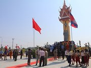 15th Vietnam-Cambodia Friendship Monument inaugurated in Cambodia