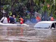 At least 10 dead in Indonesia flooding