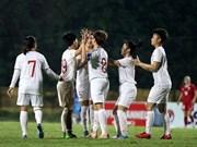 Vietnamese U19 women's team advance to Asian champ's final round