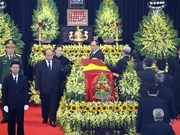 Memorial service held for former President Le Duc Anh
