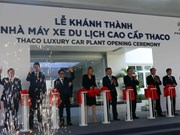 THACO inaugurates luxury car plant in Quang Nam