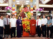 Vietnamese Buddhism praised for contribution to national construction