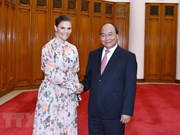 Government leader hosts Swedish Crown Princess