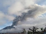 Indonesia issues flight warning due to volcanic eruptions