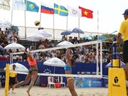 Beach volleyball tour to hit Quang Ninh province