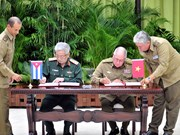 Deputy Defence Minister Nguyen Chi Vinh visits Cuba
