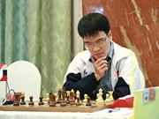 Vietnamese player suffers loss in Chinese Chess League Division