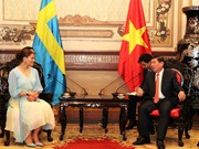 HCM City leader receives Swedish Crown Princess