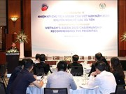 Workshop seeks priorities for Vietnam's ASEAN chairmanship term