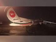 Myanmar: 11 injured as plane slides off runway