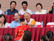 Coach Park Hang-seo meets pupils in Phu Tho province