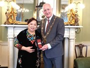 Hanoi officials visit Ireland, United Kingdom