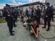 Indonesian security authorities recapture over 100 jail breakers
