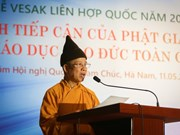 Vesak 2019: Buddhist philosophy, ethics education discussed