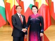 Top legislator meets with Myanmar President