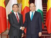 Prime Minister welcomes Myanmar President in Hanoi