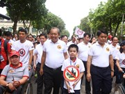 Hanoi's walk calls for actions against drunk driving