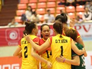 VTV9-Binh Dien Int'l Women's Volleyball Tournament opens