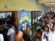 Philippine voters join midterm elections